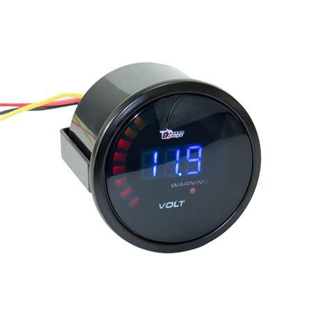 Voltmeter Mini Dc 12 Volt 2 inch 52mm 12v car digital voltmeter volt meter 20 led white 8 16v digita voltmeter volts
