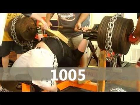 larry allen bench press henry thomason powerlifting bench press training 10 06
