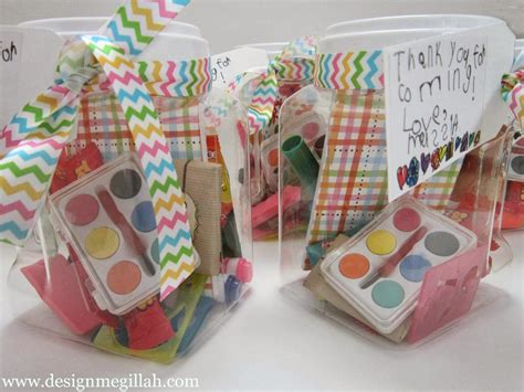 Giveaways For Parties - design megillah favors for an art birthday party