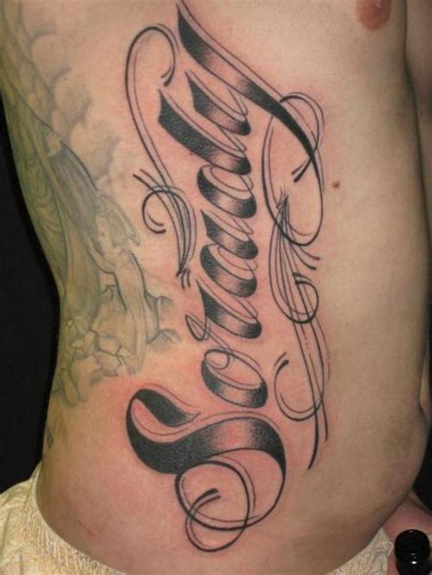 tattoo letter styles tattoos lettering fonts different lettering