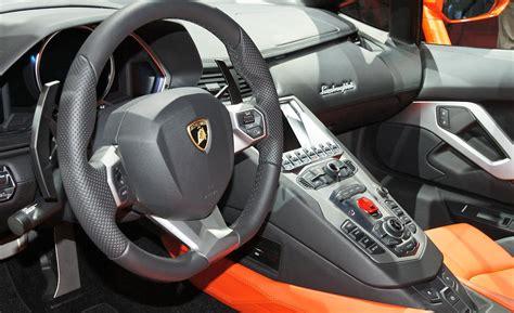 Inside Lamborghini Aventador Car And Driver