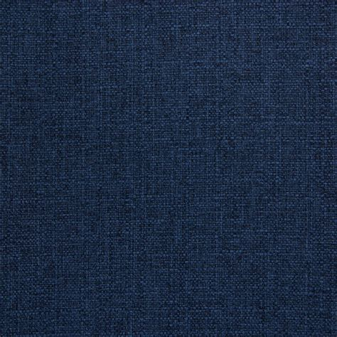 blue upholstery fabric indigo blue solid woven texture crypton performance