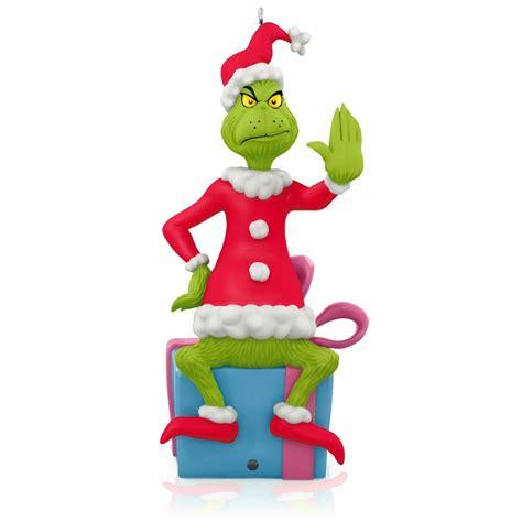 motion activated christmas decorations 2015 grinch peekbuster hallmark keepsake ornament hooked on hallmark ornaments