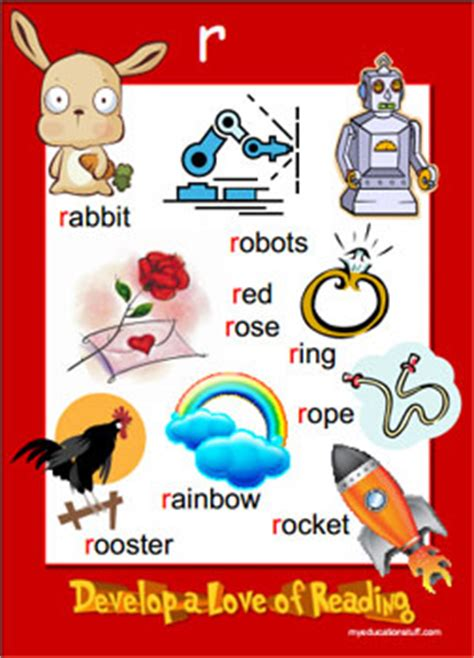 Four Letter Words Beginning With R