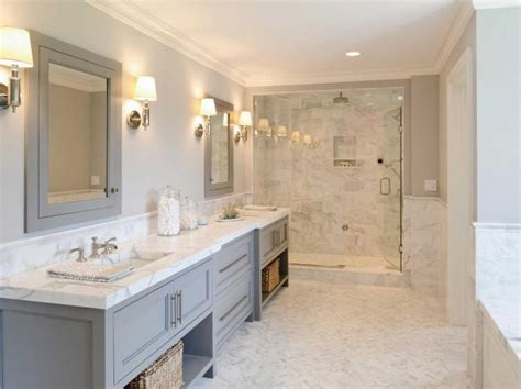 white and gray marble bathrooms 30 grey marble bathroom tile ideas and pictures