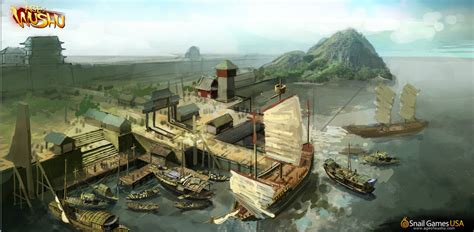 boat junk yard around me junk dock concept art by age of wushu on deviantart