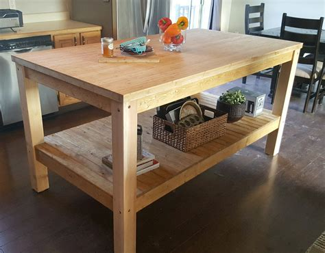 diy kitchen island ideas projects decorating your small space