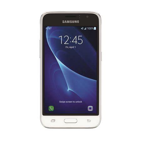 at t prepaid samsung galaxy express 3 8gb prepaid smartphone white walmart