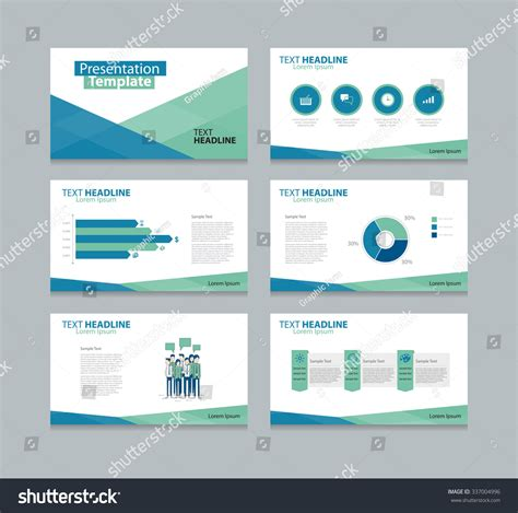 Royalty Free Business Presentation Slide Template 337004996 Stock Photo Avopix Com Slider Template Free
