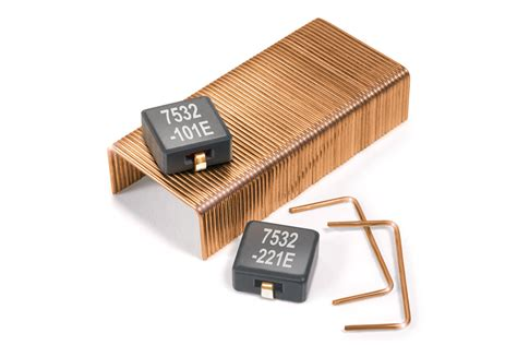 inductor current handling new shielded power inductors provide excellent current handling and exceptionally low dcr