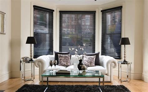 Ideas For Hton Bay Blinds Design Bay Window Blinds Ideas How To Dress Up Your Bay Window Beautifully