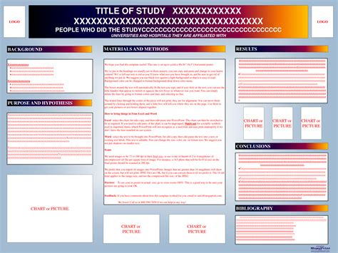 A1 Powerpoint Poster Template Images Templates Exle A1 Template Powerpoint