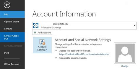 Office 365 Outlook Add Mailbox Central Exchange At Colorado State