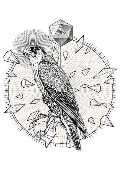 geometric tattoo hawk 643 best images about geometric vector mono on pinterest