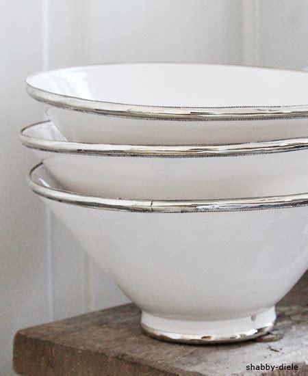 Farbe Für Zink by Marokkanische Schale Silberrand 195 184 30cm Bei Shabby Diele