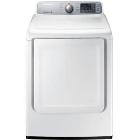 samsung 7 4 cu ft electric dryer in white dv45h7000ew