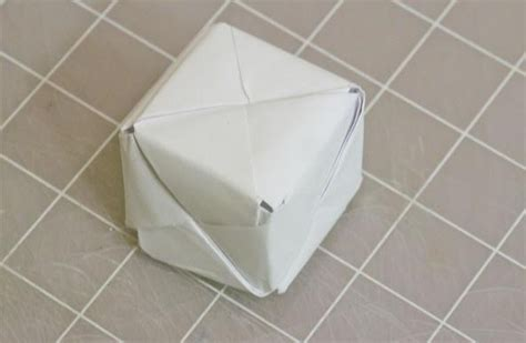 How Do You Make A 3d Cube Out Of Paper - modular origami how to make a cube octahedron