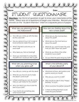 biography interview questions for high school students a super fun way to start off the new school year