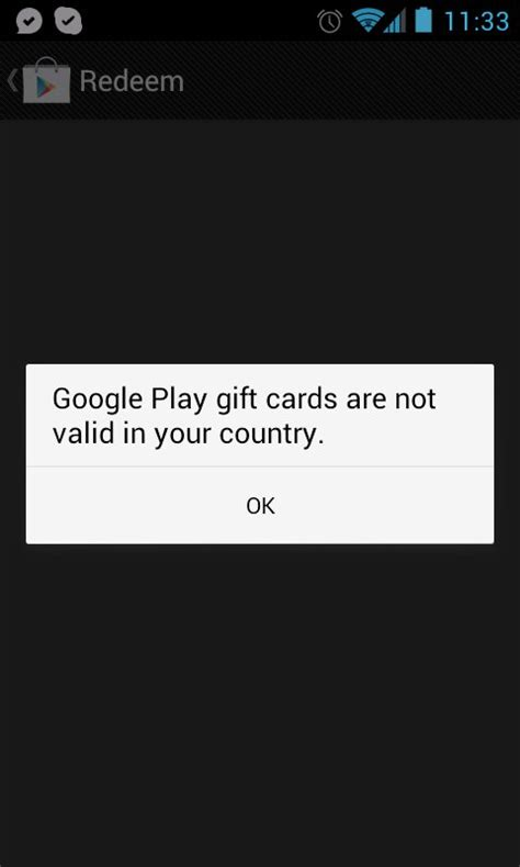 Android Store Gift Card Uk - how to redeem google play gift cards using the device play store app