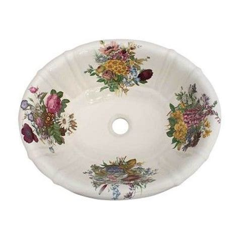 hand painted bathroom sinks 1000 images about floral hand painted sinks toilets on
