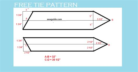 pattern make a tie how to make a tie free diy pattern tutorial sew guide