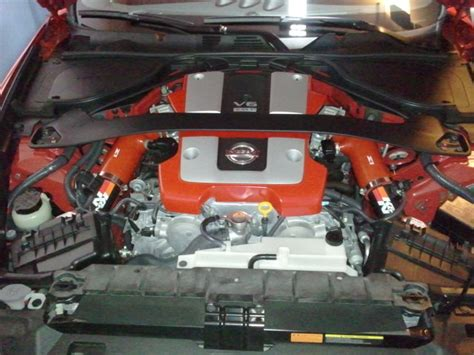 Filter Udara K N Panel For Nissan 370z my intake set up nissan 370z forum