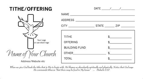 church offering envelopes templates tithes and offering envelopes www pixshark images