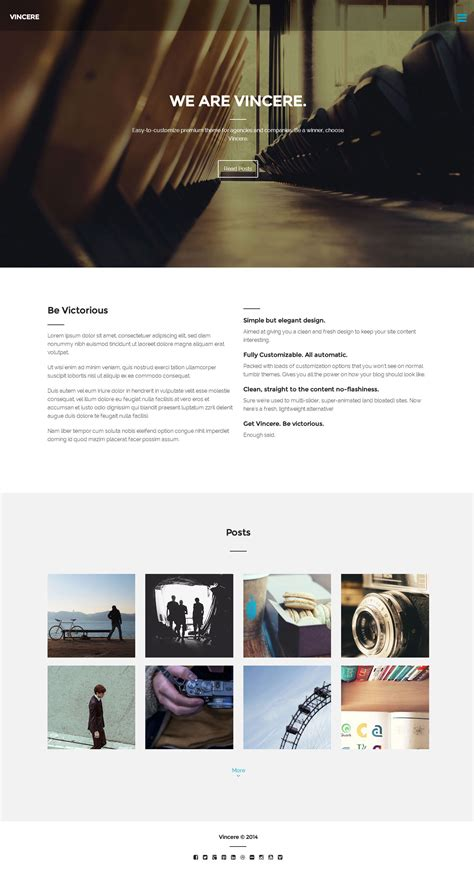 tumblr themes free business vincere business tumblr theme by oliverdionela themeforest
