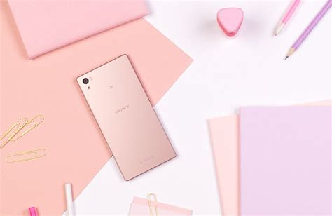 pink wallpaper for sony xperia the sony xperia z5 is now available in pink android central