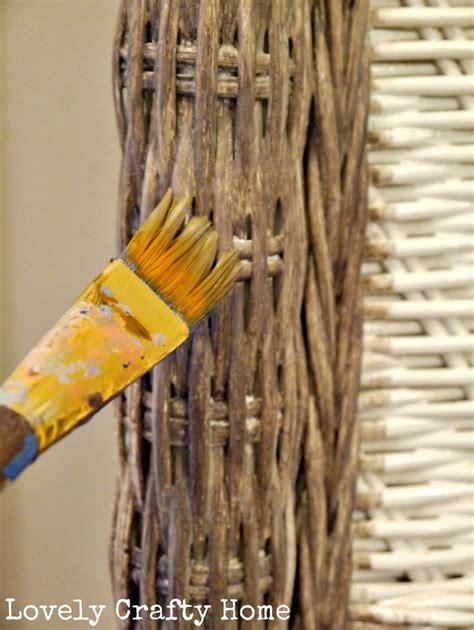 best 25 painting wicker furniture ideas on