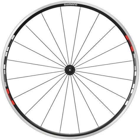Bike Cycle Aluminum Cl shimano wh r500 cl quot er front wheel black 163 52 24 wheels