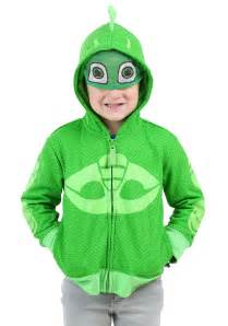 gekko toddler boy costume hooded sweatshirt pj masks