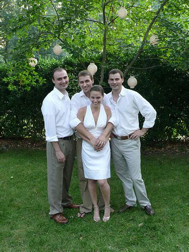 backyard wedding groom attire our 4000 backyard wedding young house love