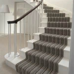 Stairs Striped Carpet by Striped Stair Carpet Home Improvements Pinterest