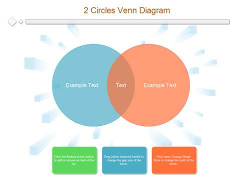 venn diagram software 2 circles venn diagram templates and exles