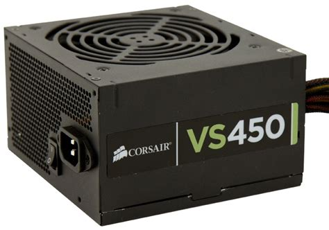 Psu Corsair Vs450 corsair launches low noise vs450 power supply syed manzoor s