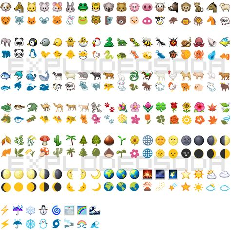 ios emoji on android ios to hangout emoji comparison explodedsoda