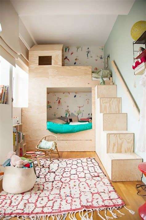 children room bed 25 best ideas about bunk beds on bedroom bedroom with loft bed and