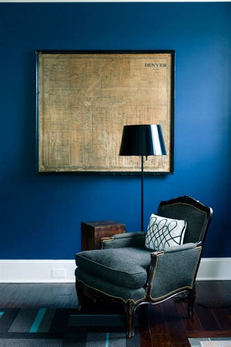 royal blue room petrol and royal blue interior styling
