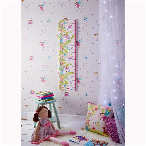 glitter wallpaper feature wall arthouse glitter detail kids girls bedroom wallpaper