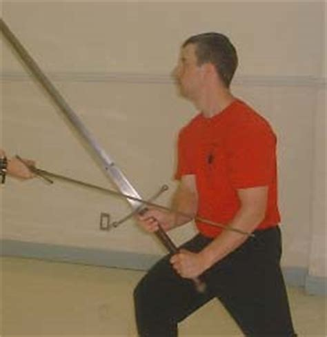 longsword roof guard the myth of edge on edge parrying in swordplay