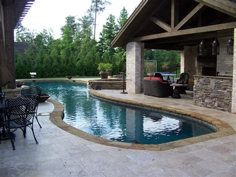 Pool Patios Designs Swimming Pool Patio Designs