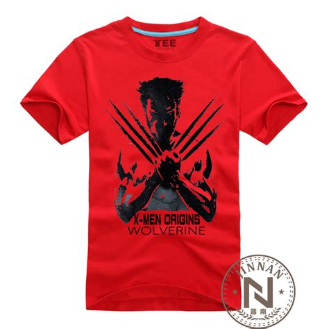Tshirt X The Wolverine Roffico Cloth aliexpress buy clothing wolverines t