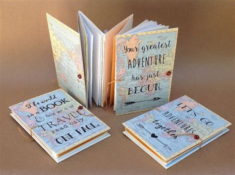 wedding gift ideas for travelers adventure book gift for traveler travel journal with
