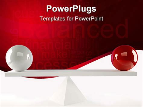 different powerpoint templates powerpoint template tow balls of different colors