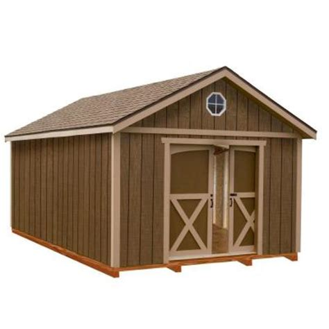 best barns dakota 12 ft x 12 ft wood storage shed