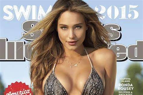 2015 sports illustrated swimsuit issue features ronda