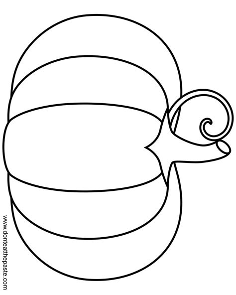 cartoon pumpkin coloring pages pumpkin outline template www pixshark com images