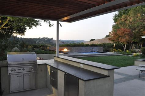 outdoor kitchen contemporary patio san francisco