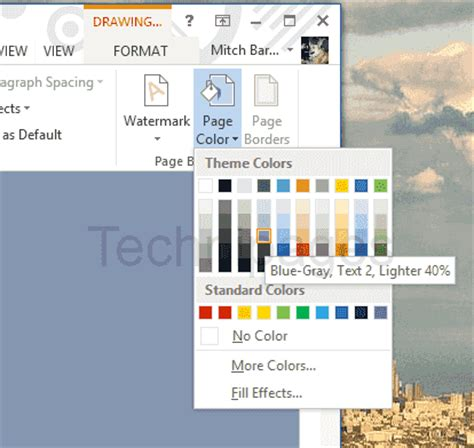 how to set a picture as a background on powerpoint word 2016 how to set background